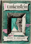 Books:Horror & Supernatural, Mary W. Shelley. Frankenstein, or the Modern Prometheus.Garden City, New York: Halcyon House, [n.d.]. Octavo. I...