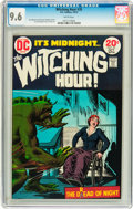 Bronze Age (1970-1979):Horror, The Witching Hour #35 (DC, 1973) CGC NM+ 9.6 White pages....