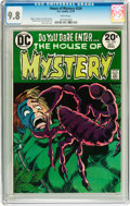 Bronze Age (1970-1979):Horror, House of Mystery #220 (DC, 1973) CGC NM/MT 9.8 White pages....