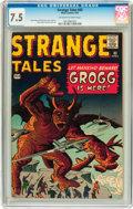 Silver Age (1956-1969):Science Fiction, Strange Tales #83 (Marvel, 1961) CGC VF- 7.5 Off-white to whitepages....