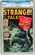 Silver Age (1956-1969):Science Fiction, Strange Tales #85 (Marvel, 1961) CGC VF 8.0 Cream to off-whitepages....