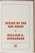 Books:Fiction, William S. Burroughs. SIGNED/LIMITED. Cities of the RedNight. New York: Holt, Rinehart and Winston, [1981]. First e...