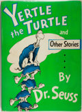 Books:Children's Books, Dr. Seuss. Yertle the Turtle. New York: Random House,[1958]. First edition. Quarto. Fully illustrated. Publisher's ...