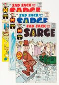 Silver Age (1956-1969):Humor, Sad Sack and the Sarge #31-76 File Copy Group (Harvey, 1962-69) Condition: Average VF/NM.... (Total: 97 Comic Books)