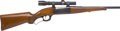 Long Guns:Lever Action, Savage Arms Model 99 Takedown Lever Action Rifle and Weaver K3-W Scope....