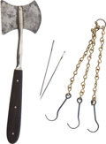Antiques:Antiquities, Lot of Three Antique 19th-Century Surgical Tools. ... (Total: 3 )
