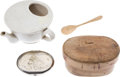 Antiques:Antiquities, Lot of Four 19th-Century Collectibles.... (Total: 4 Items)
