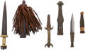 Edged Weapons:Knives, Lot of Three African Ethnographic Daggers.... (Total: 3 )