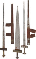 Edged Weapons:Swords, Lot of Three North African Ethnographic Swords.... (Total: 3 Items)