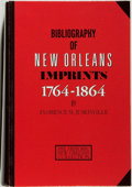 Books:Reference & Bibliography, Florence M. Jumonville. Bibliography of New Orleans Imprints1764-1864. [New Orleans]: Historic New Orleans Coll...