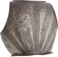 Antiques:Antiquities, 17th Century Etched Armor Backplate....
