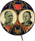 Political:Pinback Buttons (1896-present), Smith & Robinson: Royal Blue and Gold Jugate....