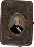Political:3D & Other Display (pre-1896), James Buchanan: Colorful Change Purse....