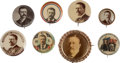 Political:Pinback Buttons (1896-present), Theodore Roosevelt: Eight Nice Buttons.... (Total: 6 Items)