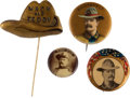 Political:Pinback Buttons (1896-present), Theodore Roosevelt: Bully Rough Rider Collection.... (Total: 4Items)