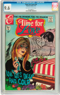 Bronze Age (1970-1979):Romance, Time For Love #16 (Charlton, 1970) CGC NM+ 9.6 Off-white to whitepages....