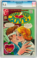 Bronze Age (1970-1979):Romance, Time For Love #23 (Charlton, 1971) CGC NM+ 9.6 Off-white to whitepages....
