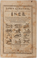 Books:Americana & American History, [Almanac]. Nathanael Low. Low's Almanack, and Mechanic's andFarmer's Calendar, for the Year 1823. Boston: Munroe & ...