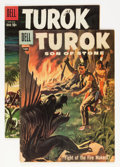 Silver Age (1956-1969):Adventure, Turok, Son of Stone #9 and 16 Group (Dell, 1957-59).... (Total: 2 Comic Books)