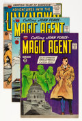 Silver Age (1956-1969):Mystery, Magic Agent/Adventures Into the Unknown Group (ACG, 1956-62)....(Total: 3 Comic Books)
