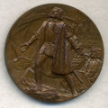 Expositions and Fairs, 1892-93 Official Columbian Exposition Awarded Medal in Bronze,Eglit-90, with Original Metal Box of Issue, Gem Uncirculated....