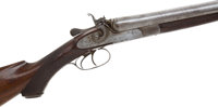 12 Gauge J. P. Clayborough & Bros Hammer Double Barrel Shotgun