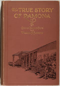 "Books:Americana & American History, Carlyle Channing Davis and William A. Alderson. The True Storyof ""Ramona."" Its Facts and Fictions, Inspiration an..."