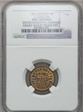 Civil War Merchants, 1863 Henry Wolff, Detroit, MI, F-225CS-5b, R.8 -- EnvironmentalDamage -- NGC Details. Unc.. Purchased from James Kelly(7...