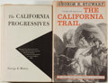 Books:Americana & American History, [Californiana]. Group of Two Books Relating to California,including: George E. Mowry. The California Progressives....(Total: 2 Items)