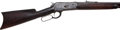 Long Guns:Lever Action, Winchester Model 1886 Lever Action Rifle together with FactoryLetter....