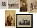 Antiques:Antiquities, Lot of Seven Assorted Military or Indian Related Photographs. ...(Total: 7 Items)