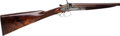 Shotgun:Double Barrel, Cased 20 Gauge J. Dougall Hammer Double Barrel Shotgun.. ...