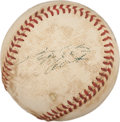 Autographs:Baseballs, Early 1970's Roberto Clemente Signed Baseball....