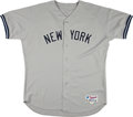 Baseball Collectibles:Uniforms, 2002 David Wells Game Worn New York Yankees Jersey & Pants....