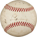 Autographs:Baseballs, 1938 New York Yankees Team Signed Baseball....