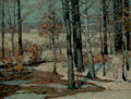 Paintings, JOHN FABIAN CARLSON (Swedish/American, 1874-1945). At the Forest's Edge. Oil on canvas . 18 x 24 inches (45.7 x 61.0 cm)...