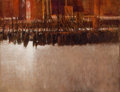 Fine Art - Painting, American:Contemporary   (1950 to present)  , WILLIAM THOMPSON (American, 20th Century). Red Square, MayDay. Oil on canvas. 29 x 36 inches (73.7 x 91.4 cm). BOSS S...