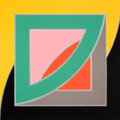 Fine Art - Work on Paper:Print, FRANK STELLA (American, b. 1936). Referendum 70, 1972. Colorscreenprint. 40 x 40 inches (101.6 x 101.6 cm). Ed. 50/200...