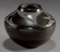American Indian Art:Pottery, A SAN ILDEFONSO BLACKWARE JAR...