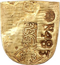 Netherlands East Indies, Netherlands East Indies: VOC Cut and Countermarked Japan gold KobanND (1773),...