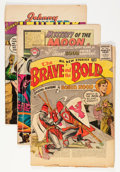 Golden Age (1938-1955):Miscellaneous, DC Golden and Silver Age Comics Group (DC, 1954-60) Condition: PR.... (Total: 53 Comic Books)