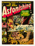 Golden Age (1938-1955):Horror, Astonishing #8 (Atlas, 1952) Condition: VG/FN....