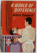 Books:Science Fiction & Fantasy, [Jerry Weist]. Robert Conquest. A World of Difference. London and Melbourne: Ward, Lock & Co., Limited, [1955]. First editio...