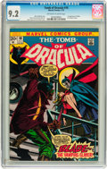 Bronze Age (1970-1979):Horror, Tomb of Dracula #10 (Marvel, 1973) CGC NM- 9.2 Off-white to whitepages....