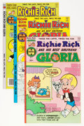 Modern Age (1980-Present):Humor, Richie Rich and Gloria #1-25 File Copy Group (Harvey, 1977-82)Condition: Average NM-.... (Total: 75 Comic Books)