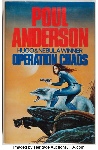 Jerry Weist]  Poul Anderson  SIGNED  Operation Chaos