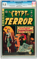 Golden Age (1938-1955):Horror, Crypt of Terror #17 Gaines File pedigree (EC, 1950) CGC NM/MT 9.8 Off-white to white pages....