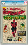 Silver Age (1956-1969):Superhero, The Amazing Spider-Man #19 (Marvel, 1964) CGC NM/MT 9.8 Off-white to white pages....