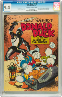 Four Color #159 Donald Duck (Dell, 1947) CGC NM 9.4 Off-white to white pages