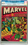 Golden Age (1938-1955):Superhero, Marvel Mystery Comics #12 Billy Wright pedigree (Timely, 1940) CGC FN+ 6.5 Off-white pages....